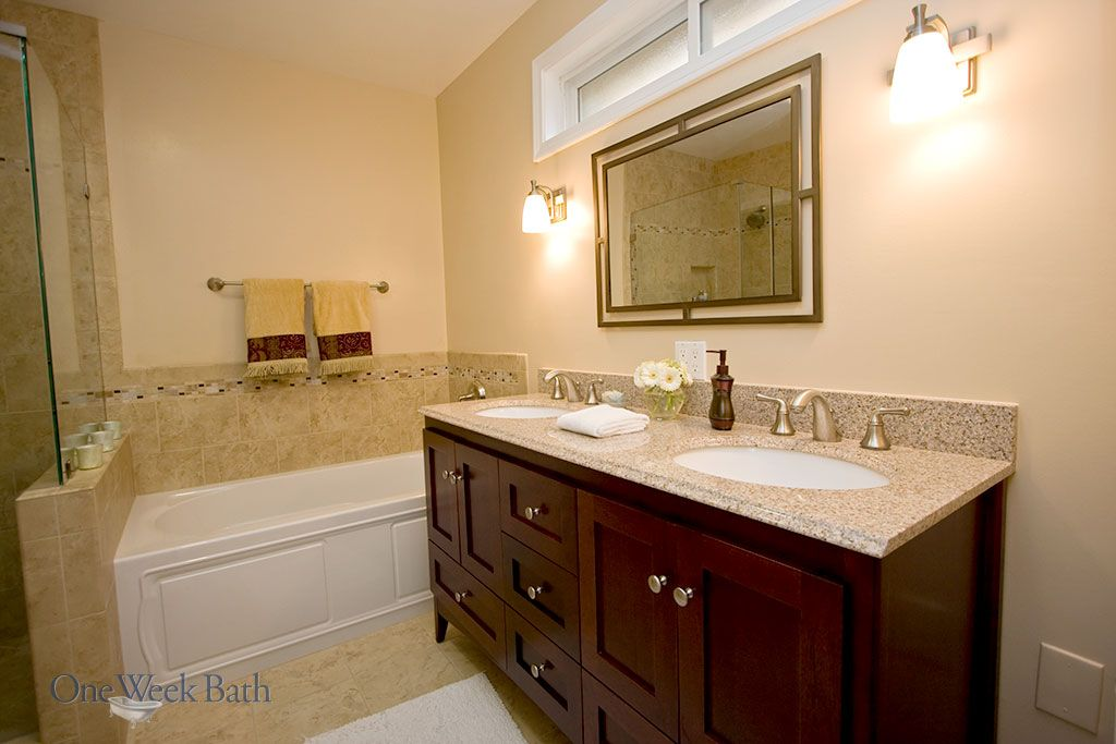 Traditional Design Style Bathrooms By Bathroom Tile Designs Bathroom Styling