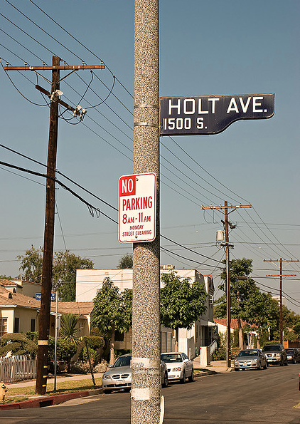 Love The Old La Street Signs Of Course Prefer Sf But Props Credit Viajante S Photostream Http Www Flickr Com P Street Signs La Streets Highway Signs