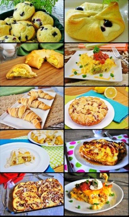 10 Great Christmas Eve Breakfast Recipes Easy Recipe Holiday Food Ideas