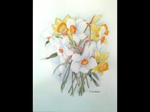 Come Dipingere I Fiori Ad Acquerello Di Wendy Tait Youtube