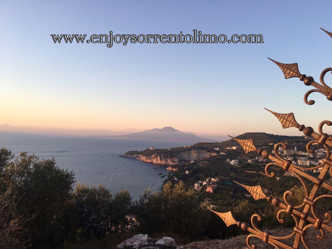 Mount Vesuvius From Massa Lubrense (Sorrento Coast)  - Enjoy Your Time with our Tour - www.enjoysorrentolimo.com - Private Day Tour From Sorrento - Private Transfer From/To Naples Airport #enjoysorrento #enjoysorrentolimo #sorrento #amalfi #positano #amalficoast #daytour