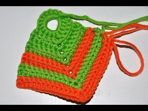 Photo of Crochet * Simple potholder with a rib pattern
