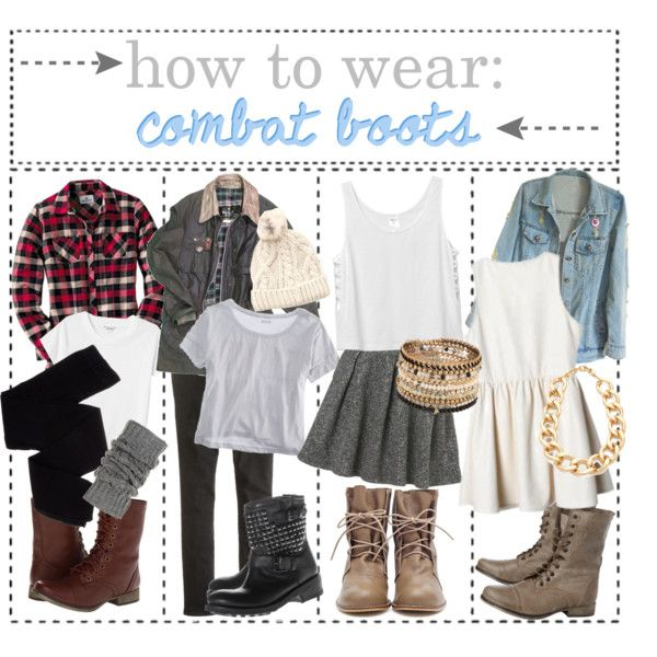 how to wear: combat boots | kaitlyn