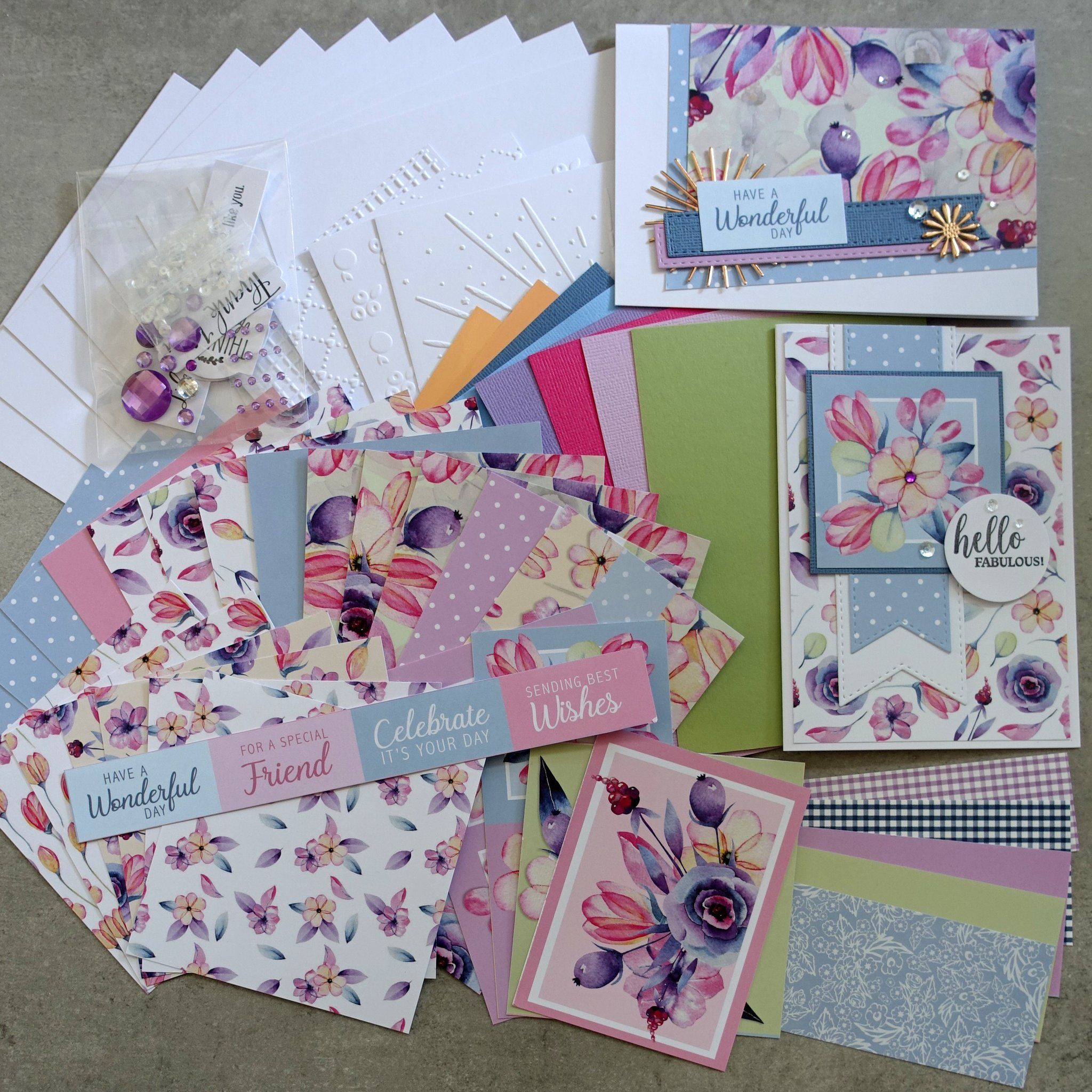 Boho Blooms Floral Flowers Botanical 6x4 A5 Card Paper Pack 1 60 Pie Shopaperartz Cardmaking Paper Pack Floral Flowers