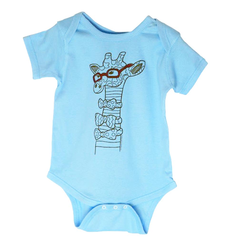 """Giraffe"" Baby Onesie | Baby onesies, Baby giraffe, Unisex ..."