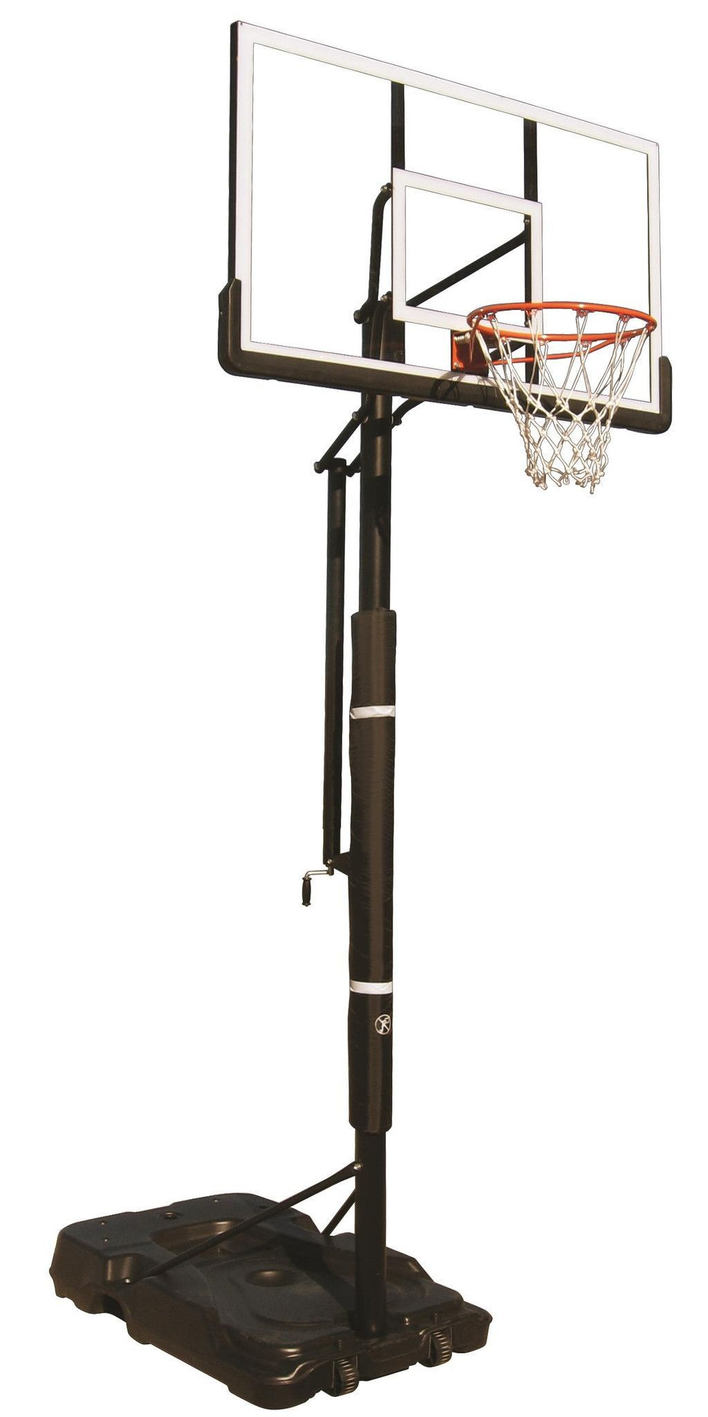 First Team Eliminator Portable Adjustable Basketball Hoop 60 Inch Acrylic From Nj Swingsets Adjustable Basketball Hoop Portable Basketball Hoop Basketball Hoop