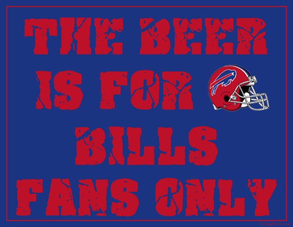 Buffalo Bills Signs Printable Buffalo Bills Man Cave