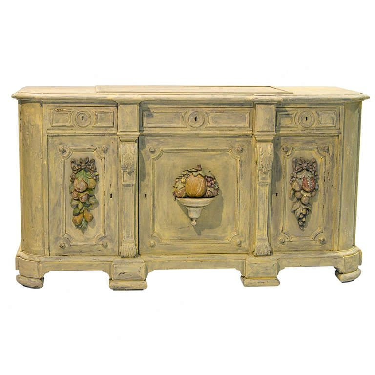 19th century painted buffet 1stdibs com painted buffet on exclusive modern nesting end tables design ideas very functional furnishings id=63047