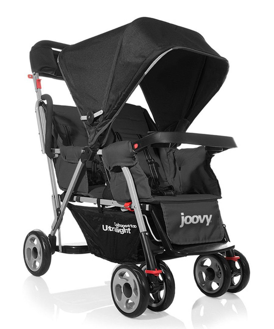 Look at this Joovy Black Caboose Too Ultralight StandOn