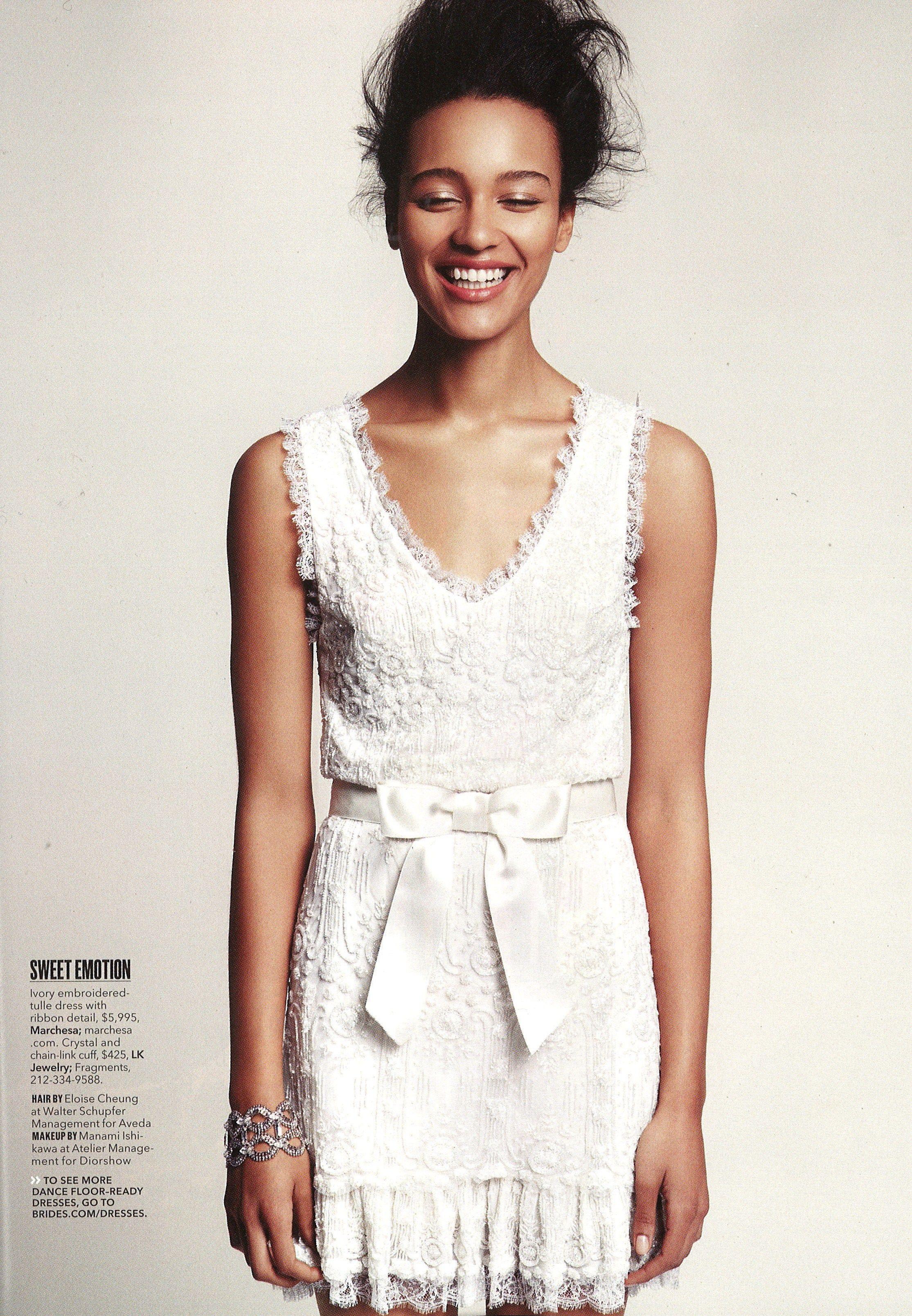 Marchesa Bridal Tail Chic In Brides Magazine