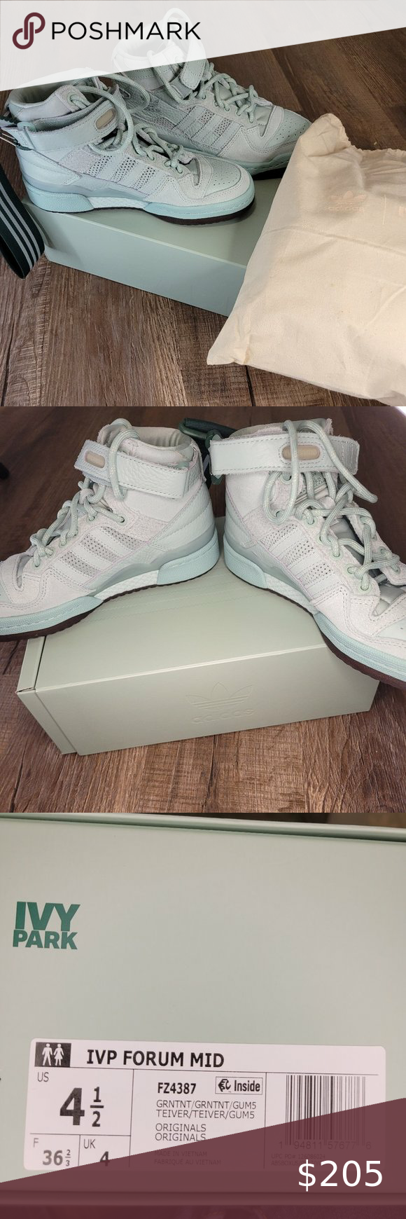 Ivy Park X Adidas Mid Forum In Greentint Beyonce S Ivy Park X Adidas Mid Forum In Men S 4 5 Which Are Women S Womens Shoes Sneakers Mens Joggers White Sneaker