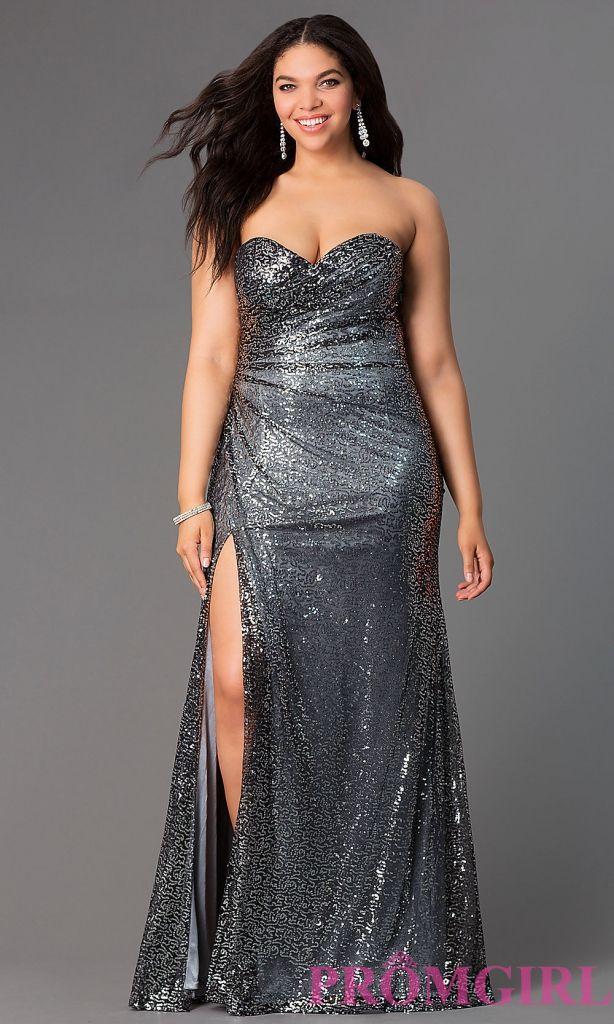 Plus size vintage style prom dresses