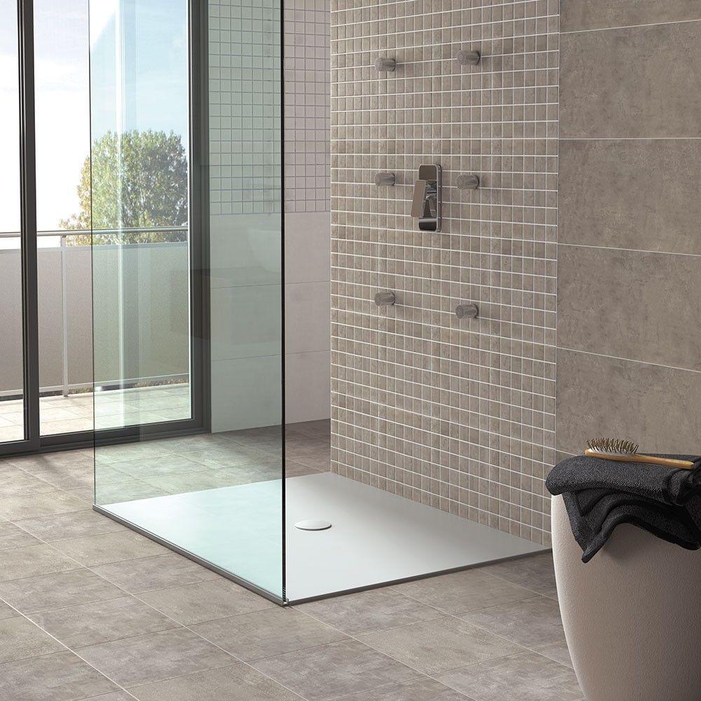 Cinereal Grey Concrete Effect Tiles Macadamize Tiles 326x326x9mm Tiles
