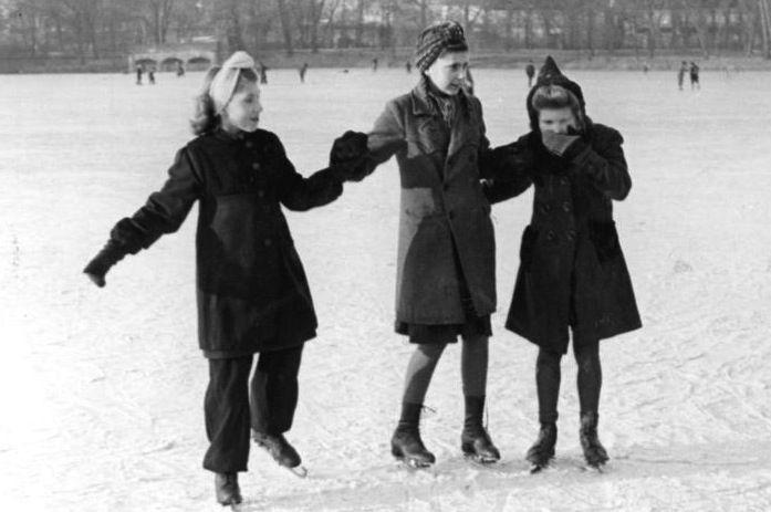 hanging ice skates - Google Search