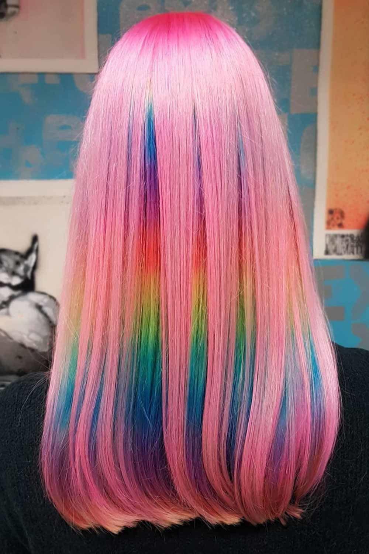 30 Wonderful Cotton Candy Hair Ideas   LoveHairStyles.com