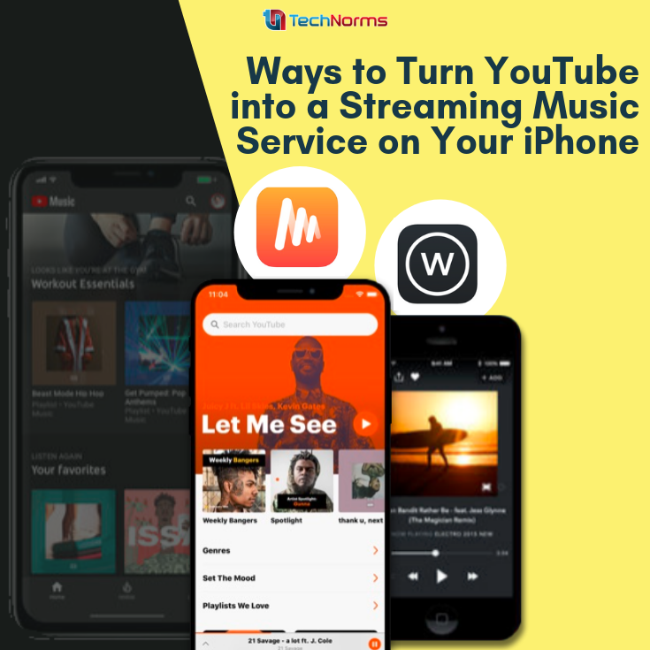 3 Ways to Use YouTube as a Streaming Music Service on iOS   iOS