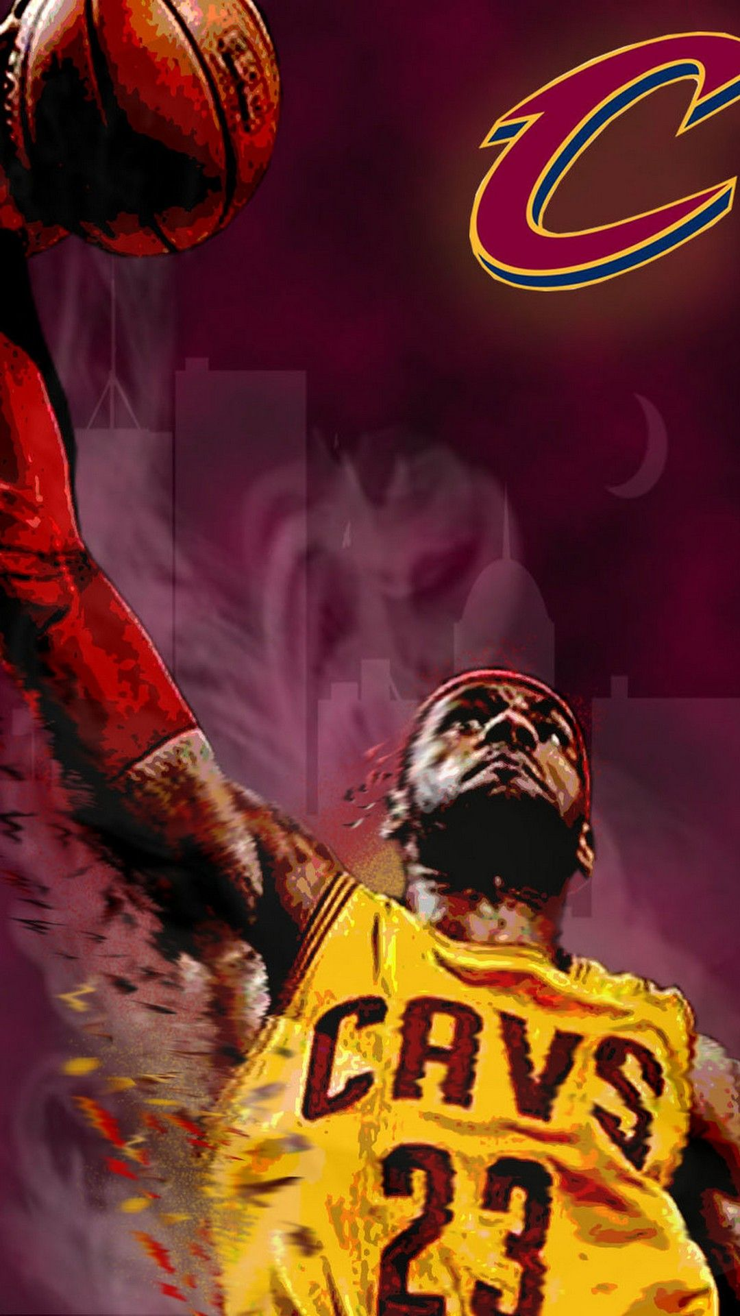 LeBron James Cavs Wallpaper IPhone X
