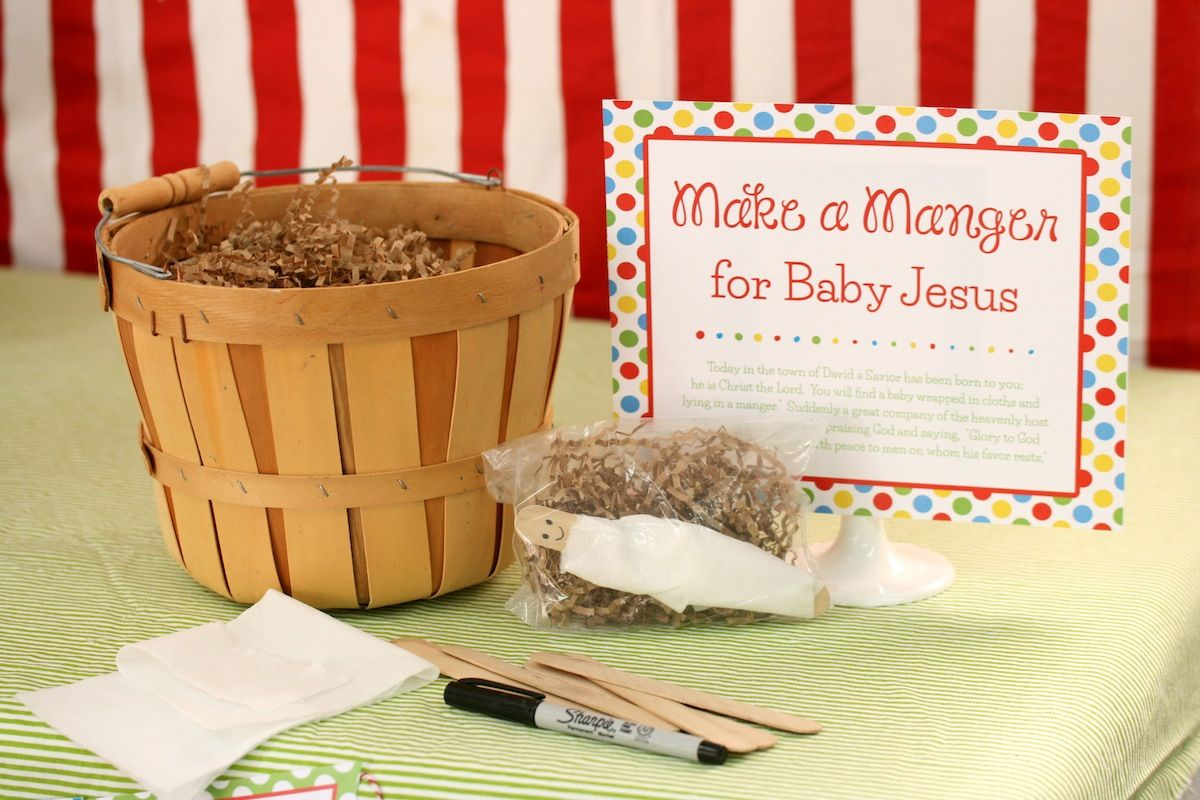 Free Printables For A Happy Birthday Jesus Party So Stinking Cute