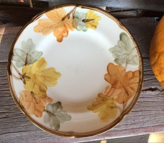Vintage Franciscan ware October dishes, Franciscan October SALAD ...