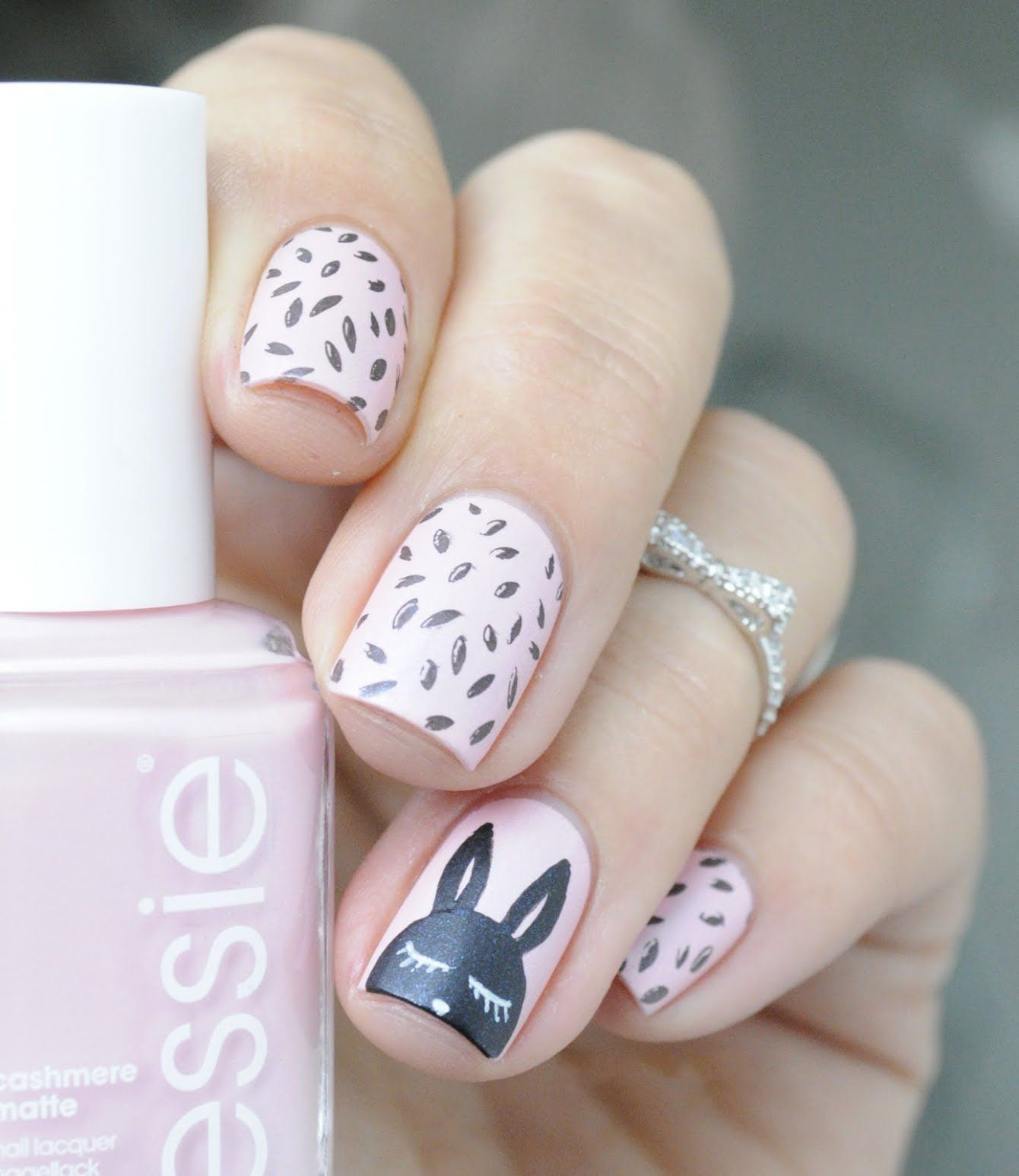 To acquire 30 easter lovely bunny nail arts picture trends