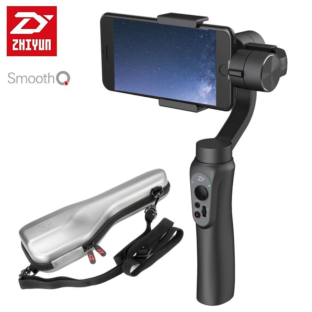 Zhiyun Smooth Q 3 Axis Handheld Gimbal Portable Stabilizer Best Offer Electronics And Computers Shop Ineedthebestoffer Com Best Smartphone Photo Record Action Camera
