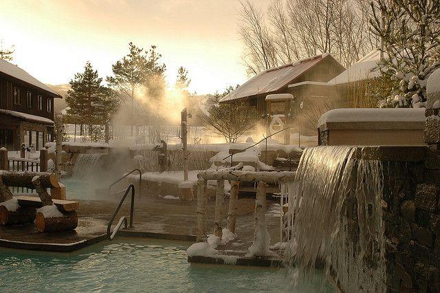 Nordic Spa And Finnish Sauna Scandinave Spa Blue Mountain Scandinavian Baths Spa Waterfall Blue Mountain