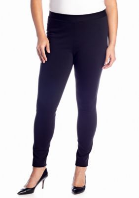 crown  ivy   Plus Size Ponte Core Leggings