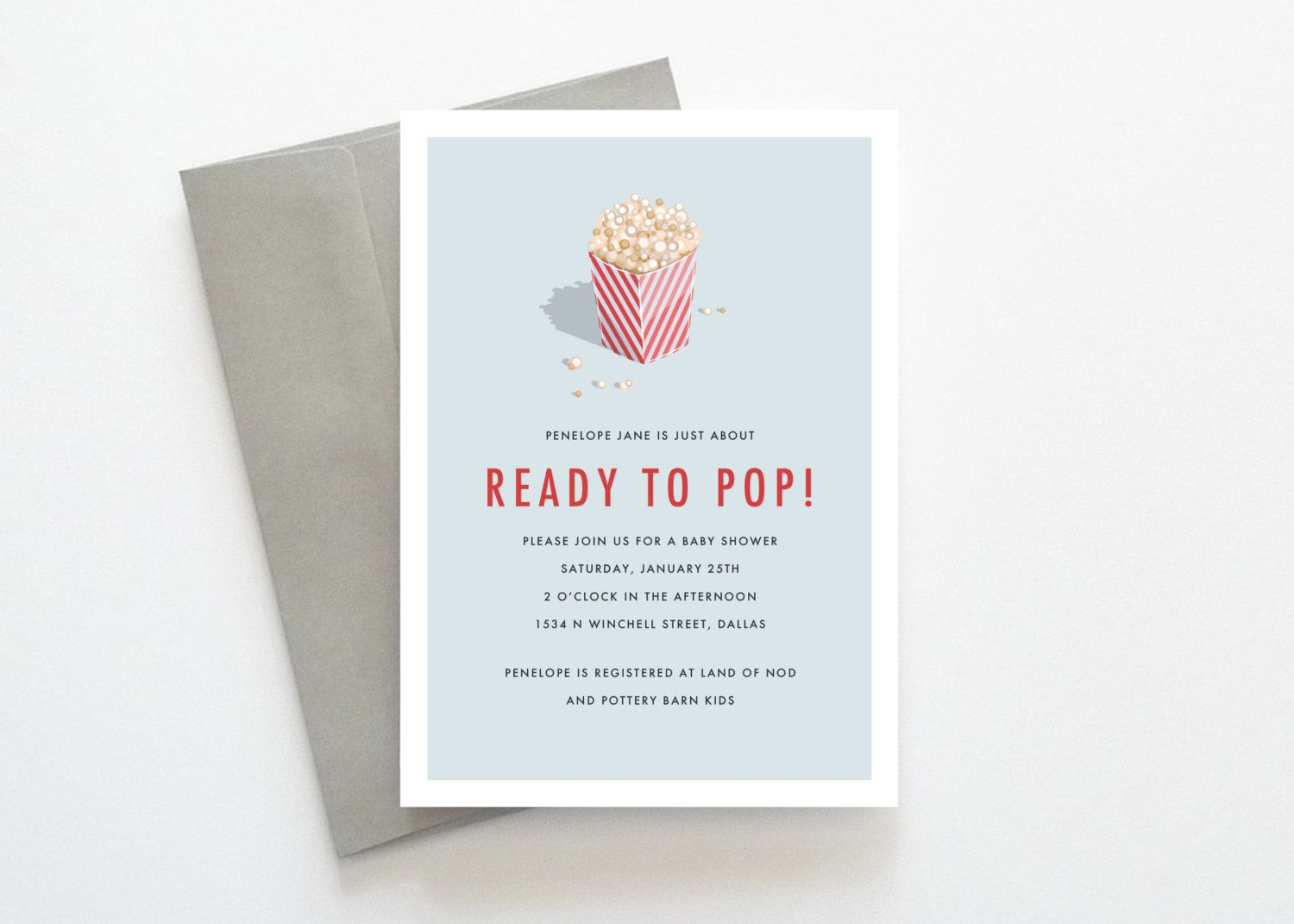 Baby shower invitations popcorn baby shower invitations baby baby shower invitations popcorn baby shower invitations filmwisefo