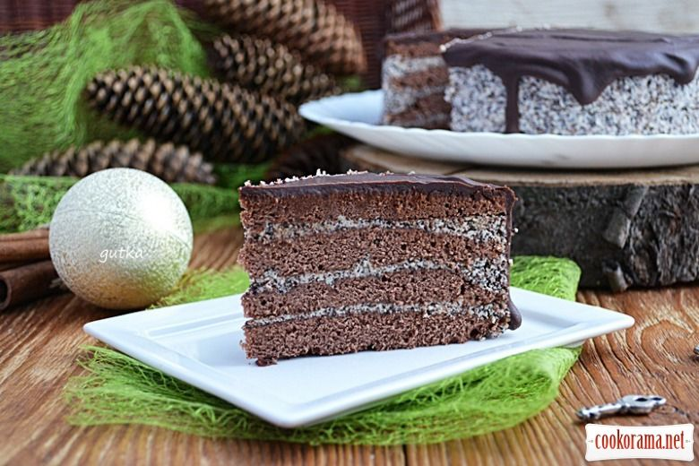 Торт «Маковий»