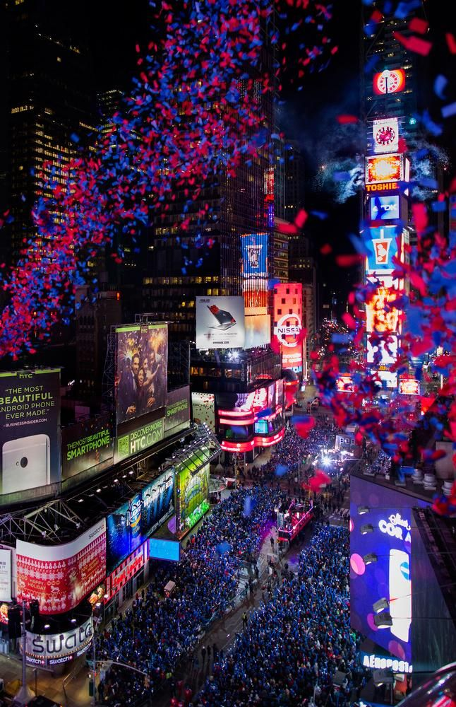 Top Places To Celebrate New Year S Eve With Images New York