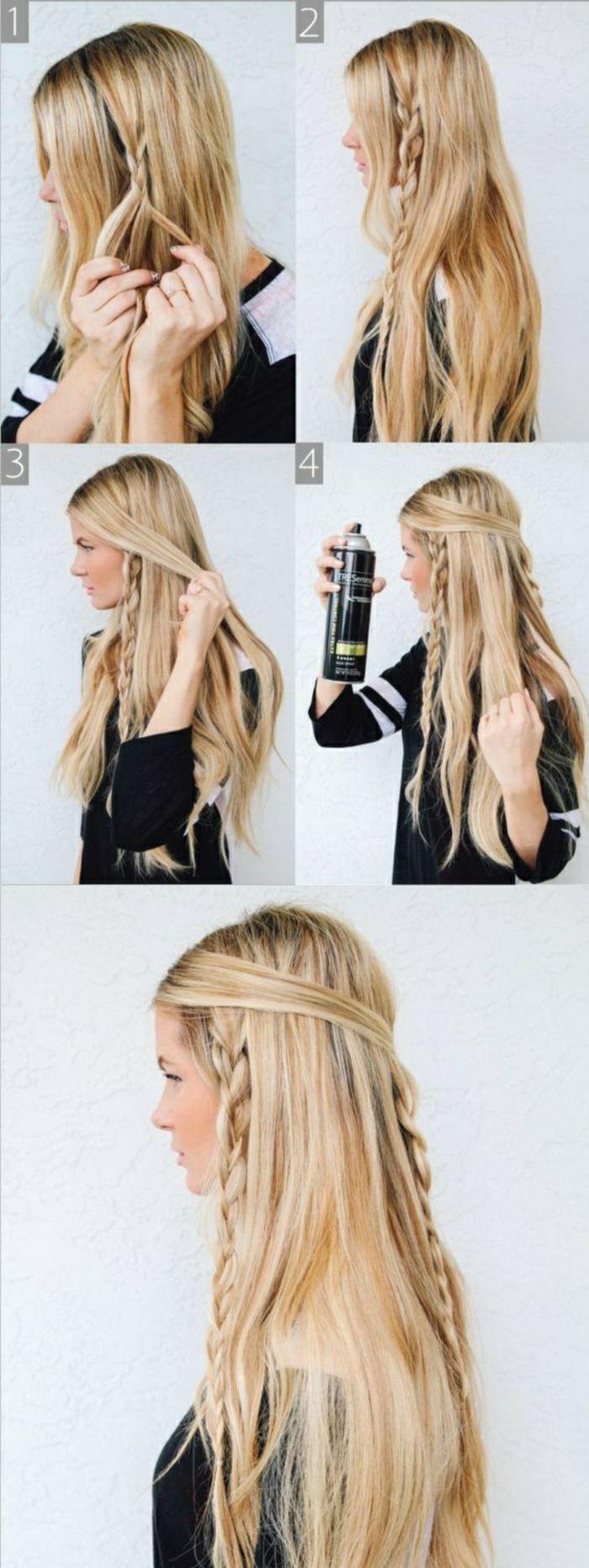 ▷ Más de 1001 ideas e instrucciones sobre cómo hacer peinados trenzados usted mismo