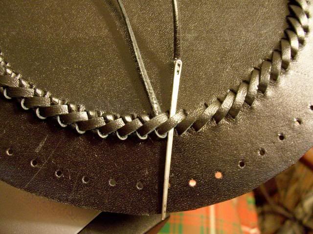 Sporran Braiding Leather Working Pinterest Stitches