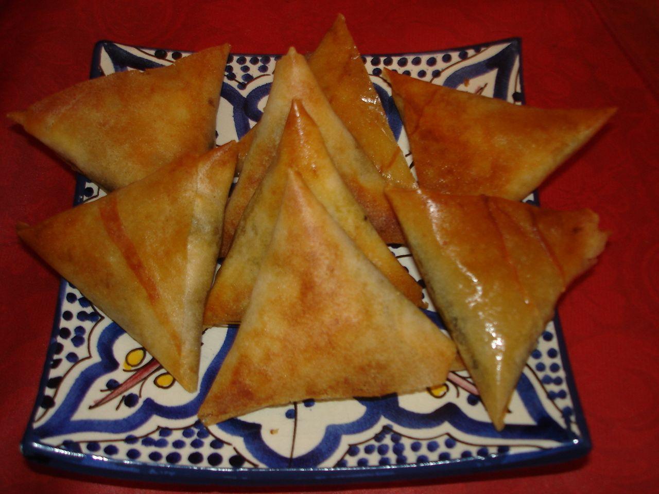 cuisine marocaine feuille de brick