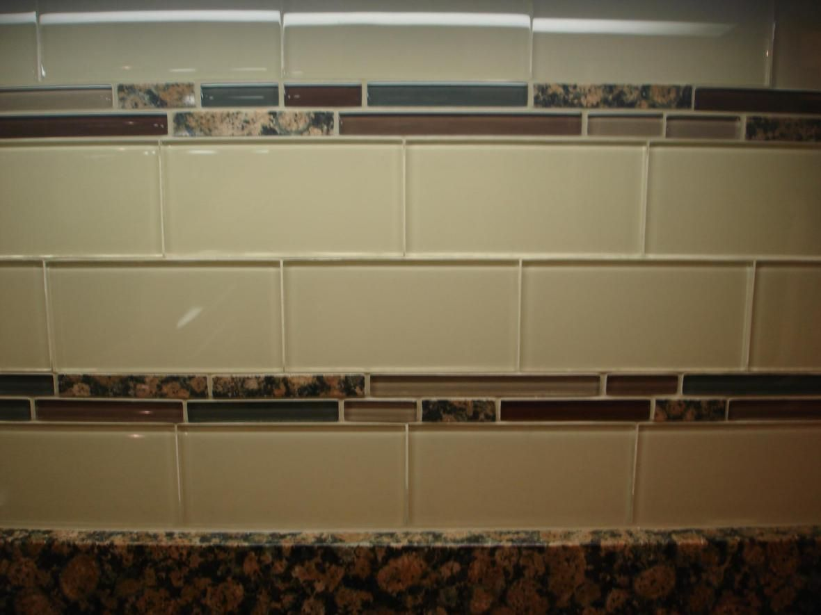 Clear Glass Subway Tile Glass Subway Tile Backsplash Glass