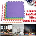54x Baby Play Mat Floor Fitness Foam Mat Tiles Puzzle Pad Gym Exercise 6 Colors #Fitness
