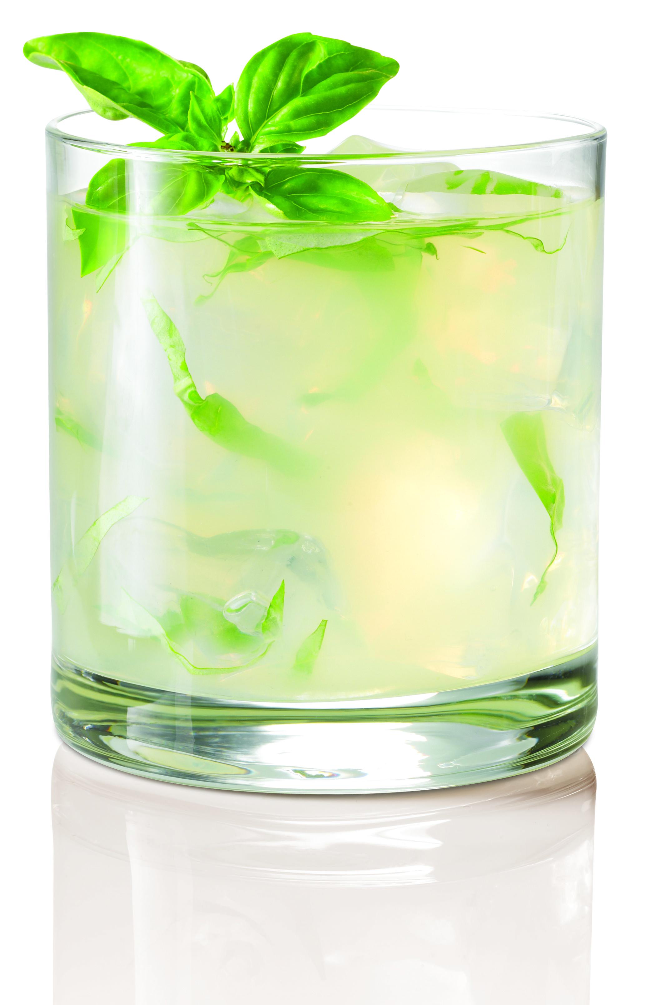 Coconut Basil Gimlet With Skyy Coconut Infusion 1 5 Oz Vodka 5