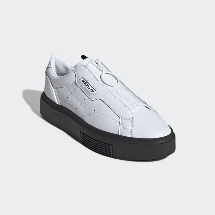 Espacioso ciervo Juguetón  adidas Sleek Super Zip Shoes White 6 Womens | Womens shoes sneakers, Womens  shoes wedges, Womens shoes high heels
