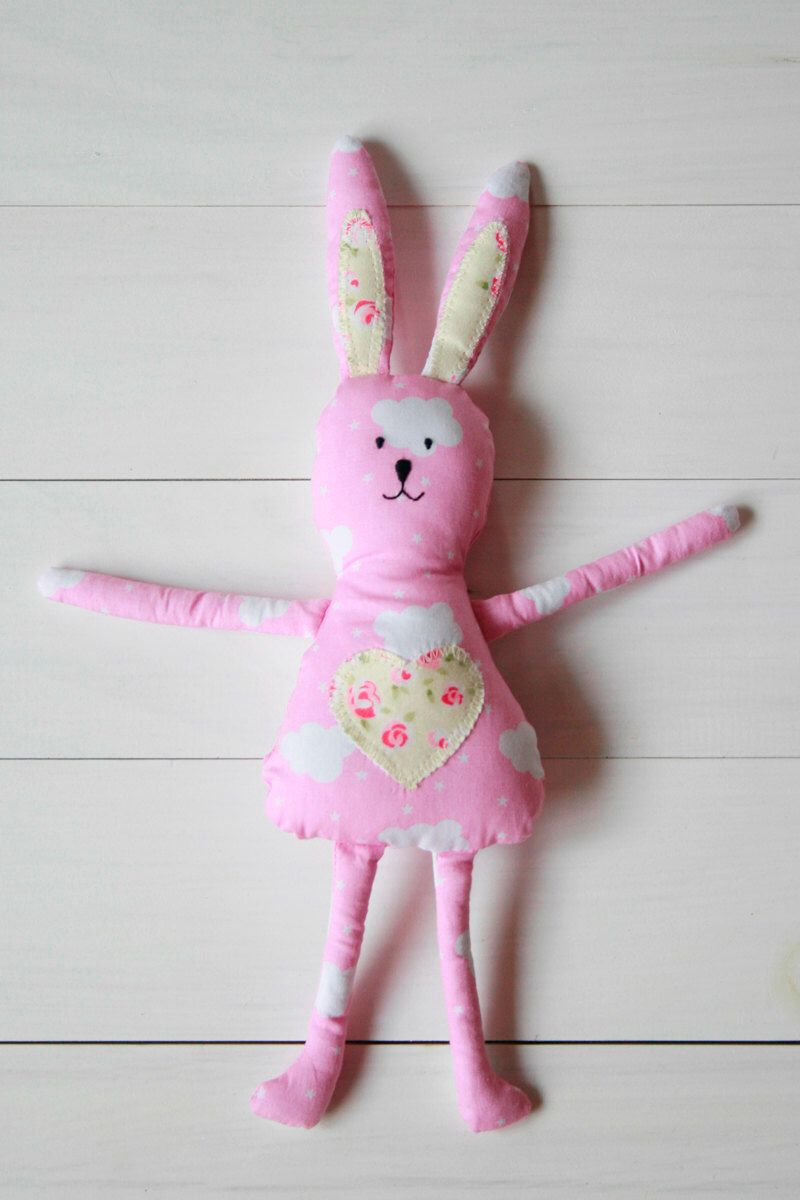 Mini easter bunny easter bunny toy spring rabbit plush fabric soft mini easter bunny easter bunny toy spring rabbit plush fabric soft toy cuddly negle Images
