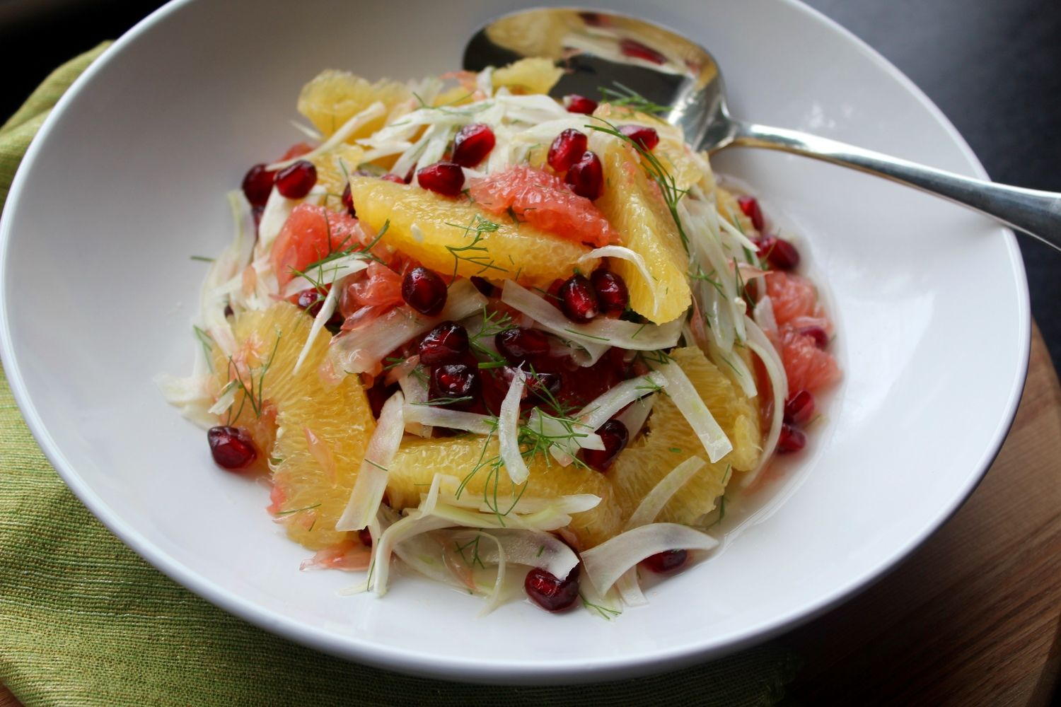 Citrus, Fennel & Pomegranate Salad — Wisdom Kitchen - Atlanta Personal Chef & Dietitian