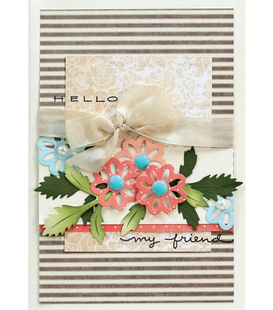 Friendship Card Making Ideas Part - 32: Hello My Friend Card