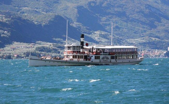 Ferryboats on Lake Garda (near Verona)