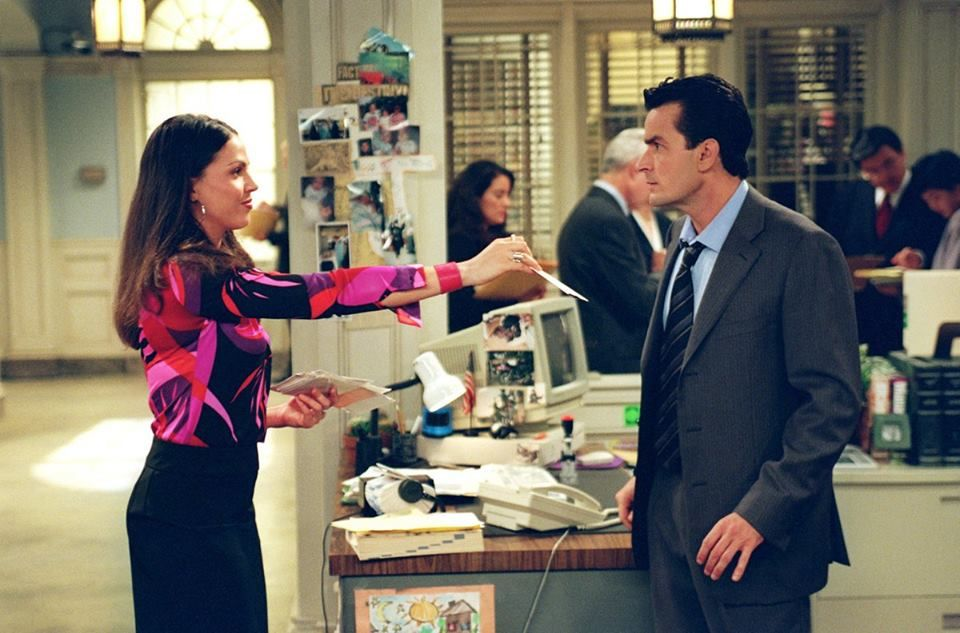Lana Parrilla As Angie Ordonez In Spin City Spin City Lana Parrilla Evil Queen