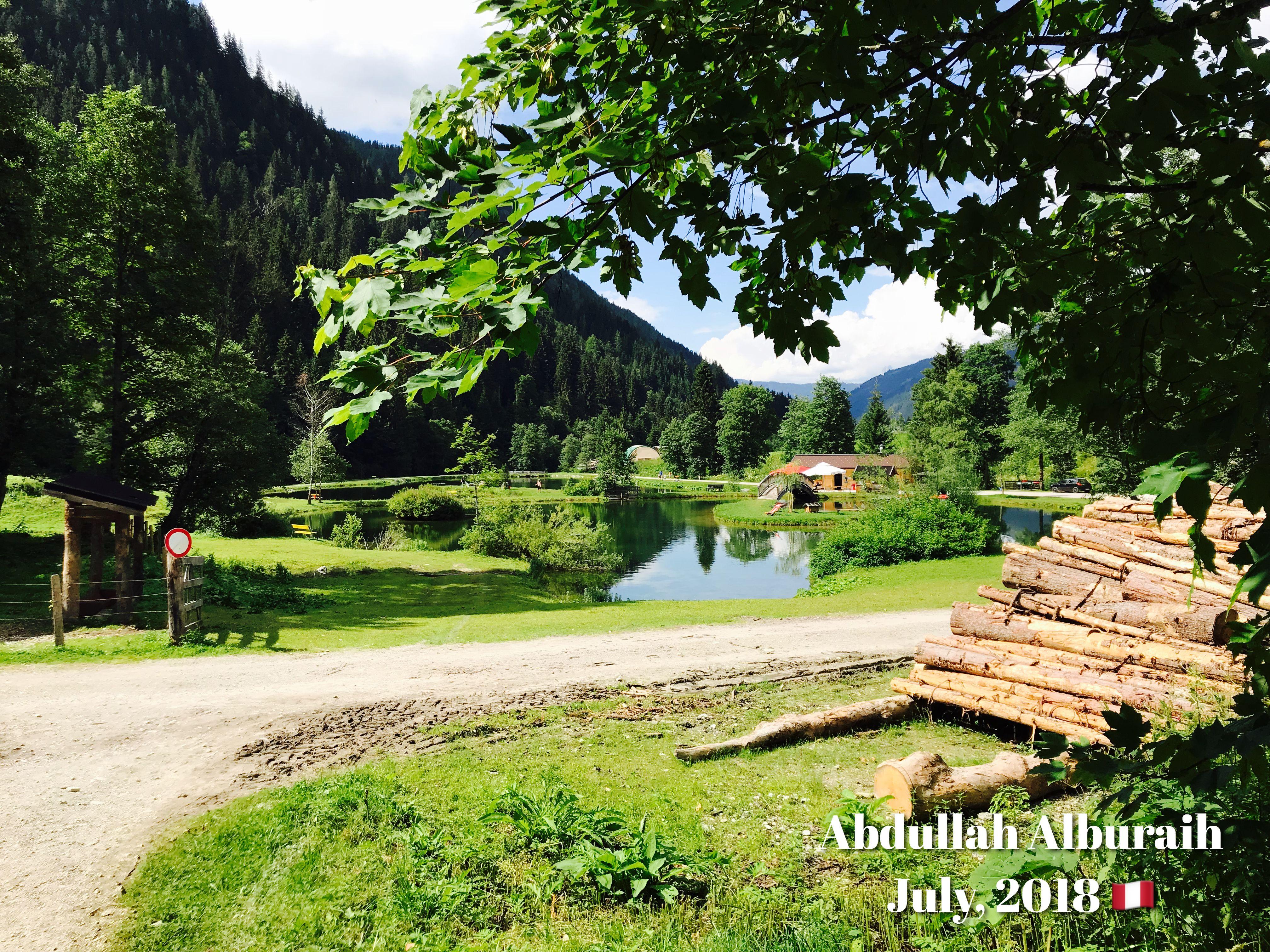 Austria جمال الطبيعة النمساوية منظر طبيعي جمال طبيعة الريف Landscape Natural Golf Courses Field Sidewalk