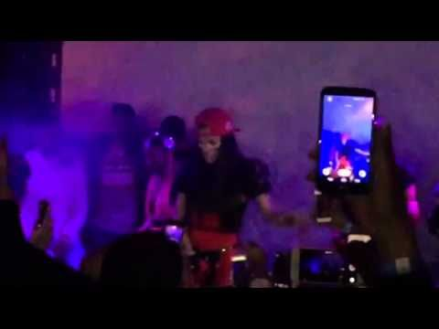 "Teyana Taylor performs "" Do Not Disturb "" Live at SOBs 2015"