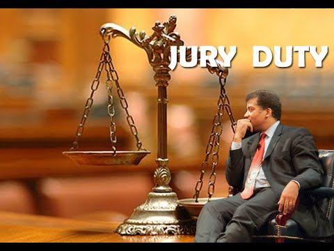 Neil deGrasse Tyson serving Jury Duty