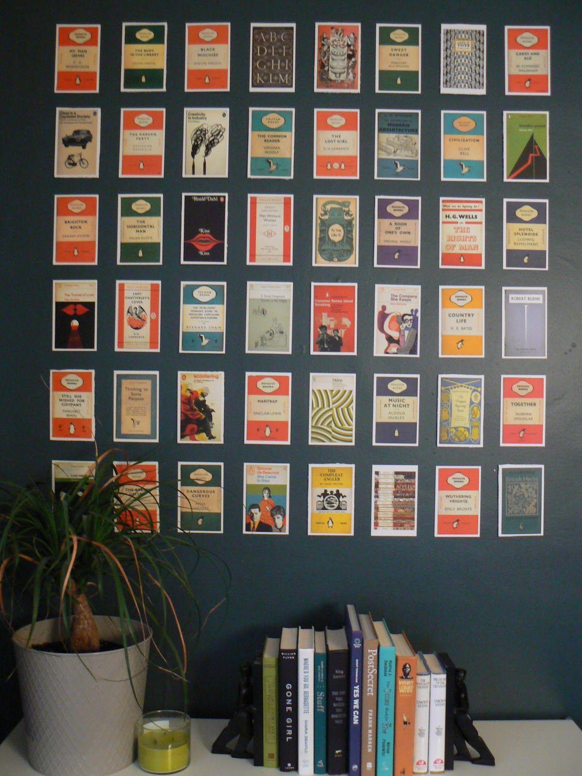 Mylittlehousedesign Com Postcard Wall Art Book Wall Art Postcard Wall Simple Wall Art