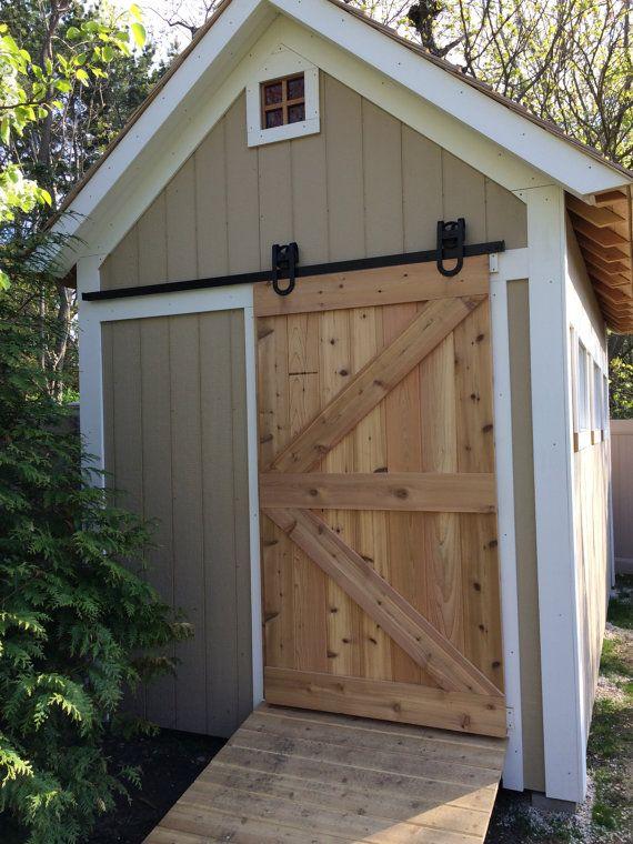 All Cedar Sliding Barn Door On Etsy