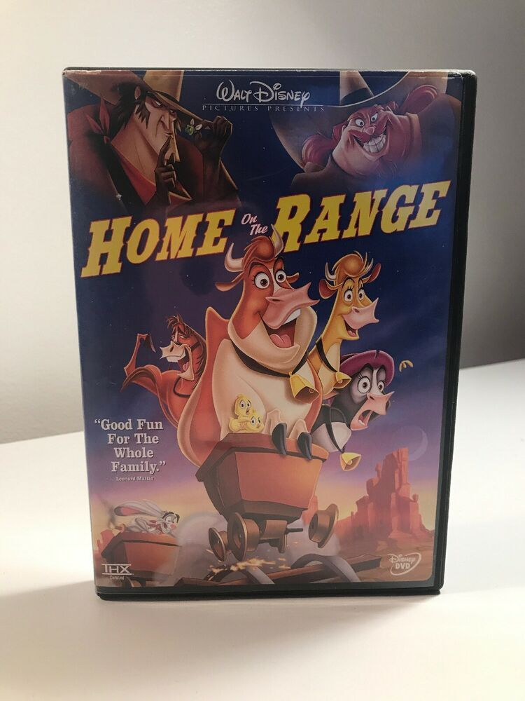 Home On The Range Dvd Disney Ebay Disney Dvds Home On The Range Dvd