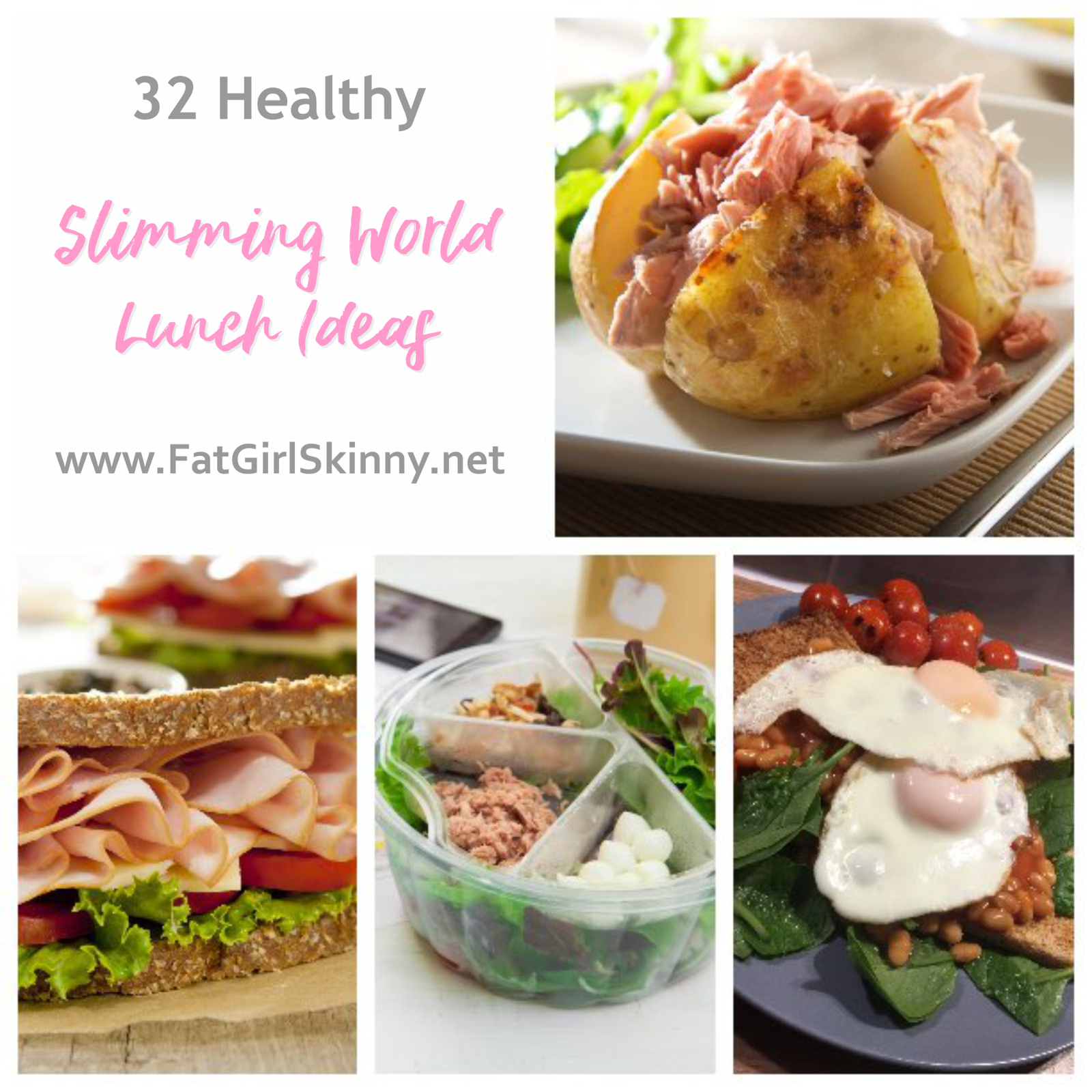 32 Healthy Slimming World Lunch Ideas