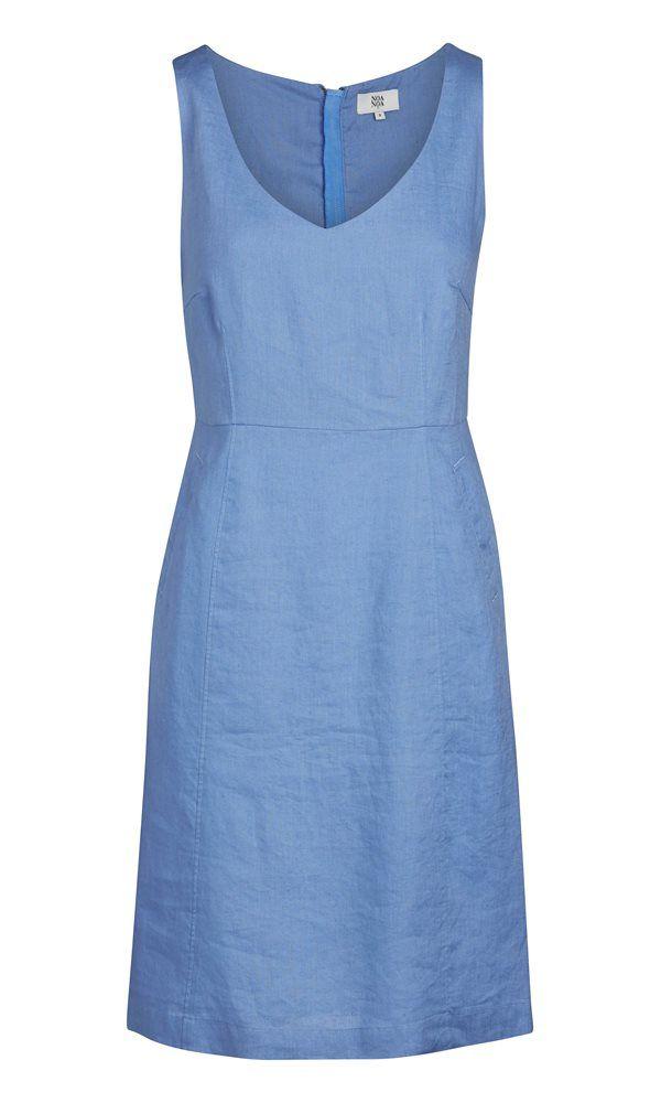 Kleid aus Leinen - Blau | Mode & Co. | Pinterest | Baby delivery ...